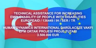 Engelli Bireylerin İstihdamı Projesi