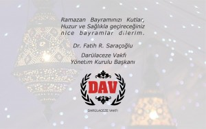 Ramazan Bayramı Tebrik